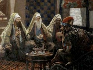 Pharisees with King Herod