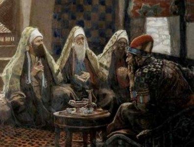 Pharisees with King Herod